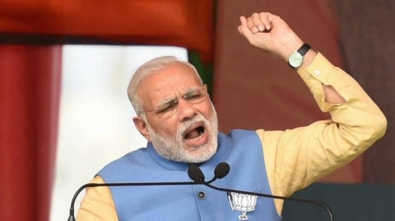 The MPs' success is linked to the party's performance, the prime minister told the BJP parliamentary meeting, the leaders said.  (Photo: PTI | File)