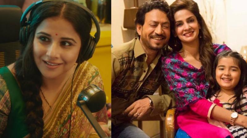 Vidya Balan's 'Tumhari Sulu' and Irrfan Khan's 'Hindi Medium' were also hits at the box office.