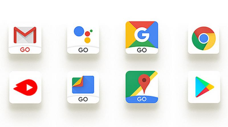 The Go smartphones will also come with optimised Go-branded Google apps such as Gmail Go, YouTube Go, Google Go, Assistant (Go edition), Maps Go and Files Go.