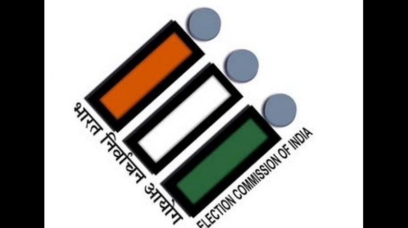 'The Commission has directed a Committee of Officers to examine the matter immediately in the light of Model Code of Conduct,' read a statement from the electoral body. (Photo: ANI)