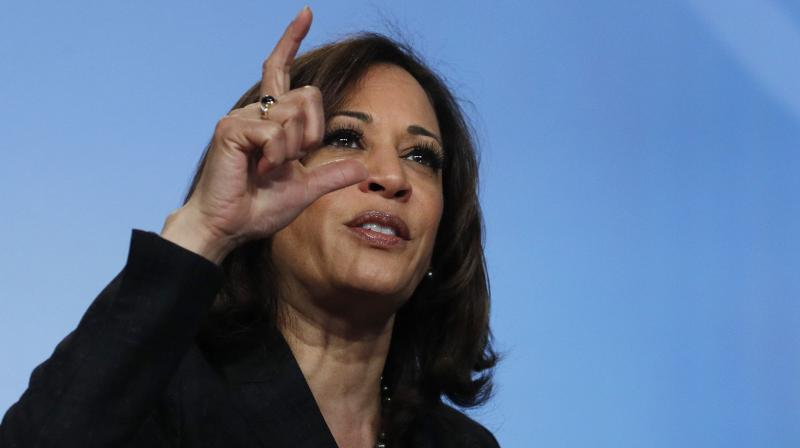 Harris, who formally launched her presidential campaign with an impressive rally of more than 20,000 people in her home town of Oakland. (Photo:AP)