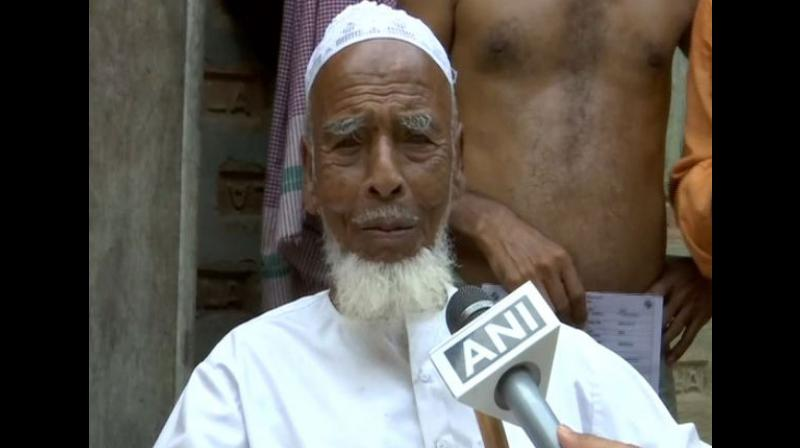 'It is because of this democracy that we do not have hunger and poverty like those times,' says Mahamud Ali, the 116-year-old-voter. (Photo: ANI)