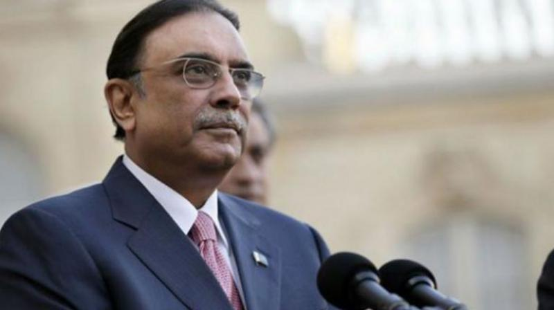 Zardari was first arrested by the NAB in June, this year, after the Islamabad High Court (IHC) recalled the pre-arrest bail granted to him and his sister in the fake accounts case. (Photo: AFP)