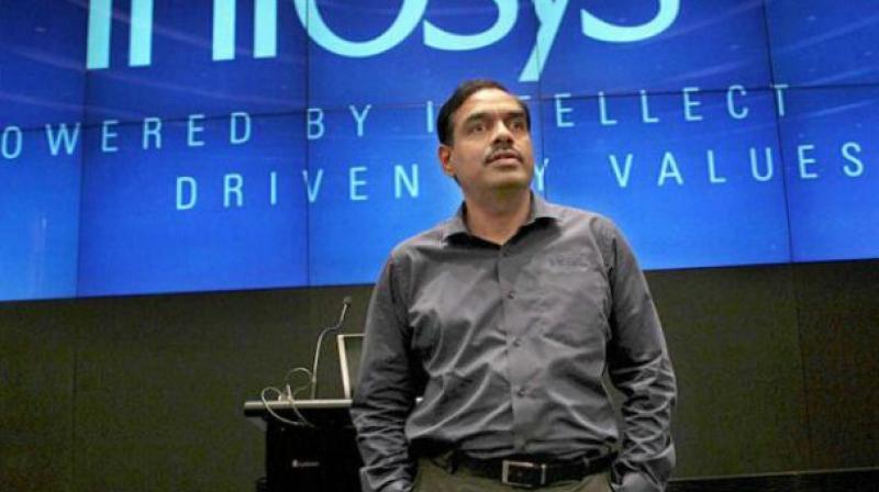 Former Infosys CFO V Balakrishnan.