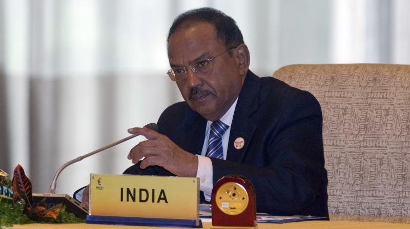 NSA Ajit Doval on Tuesday walked out of a meeting of the national security advisors of Shanghai Cooperation Organisation (SCO) member countries in protest after the Pakistani representative used a