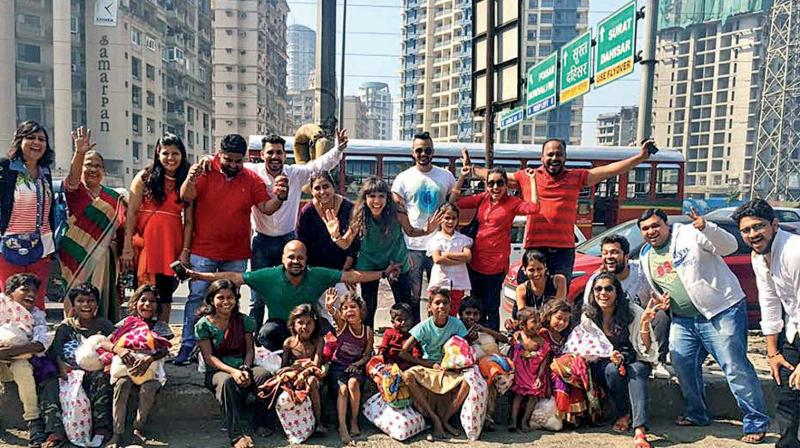 A group called Rasta spreads joy on Christmas day every year by playing Santa for street kids.