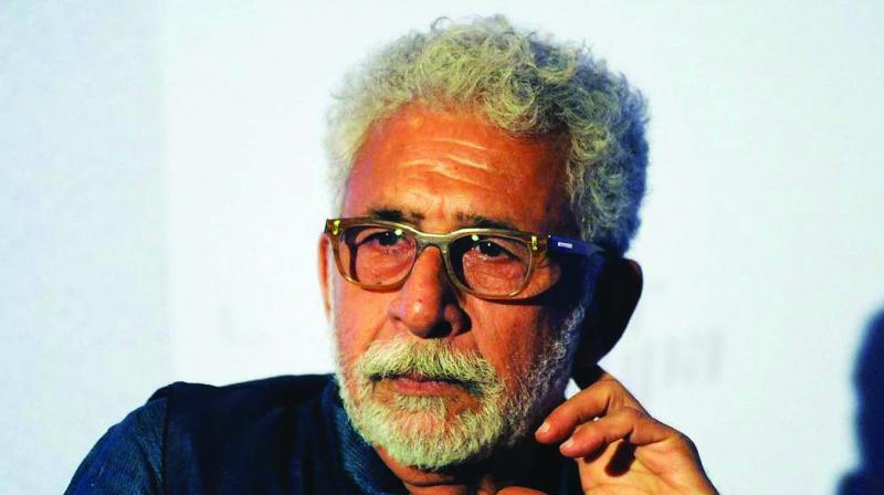 Theatre artist Naseeruddin Shah.