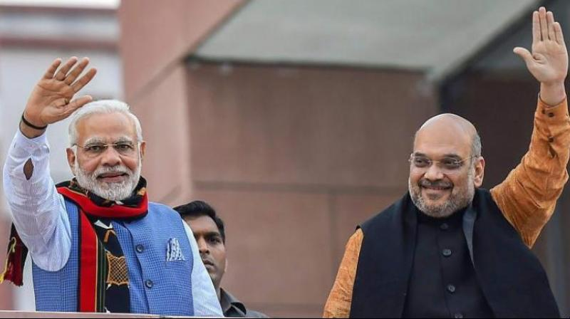 Prime Minister Narendra Modi and BJP President Amit shah (Photo:PTI/File)