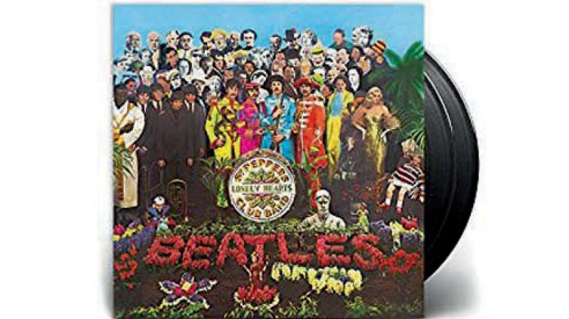 This year's Beatles' Sgt Pepper's 50th anniversary release.