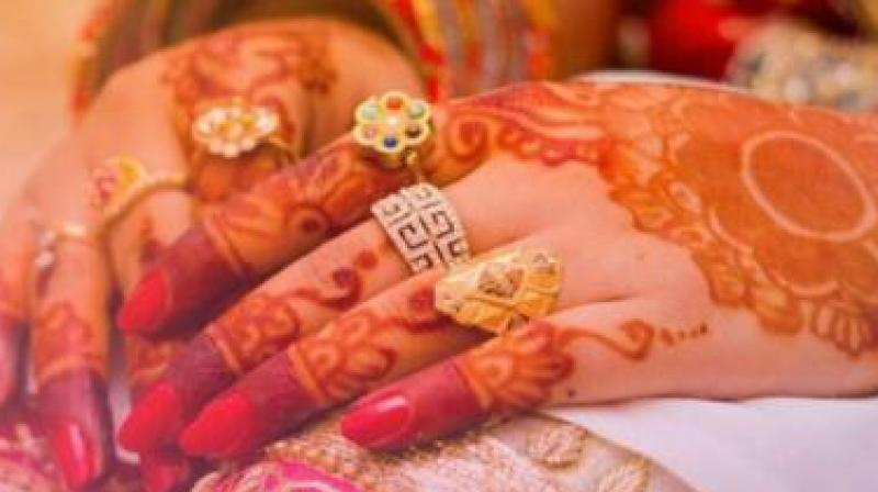 Doctors claim that  most cases of allergy reported by patients are caused by chemicals mixed in henna. (Representational image)