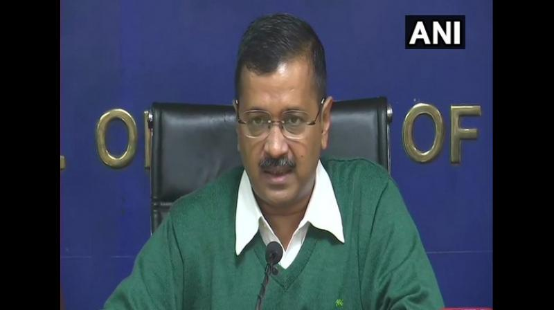 Chief Minister Arvind Kejriwal said here on Thursday that each bus will have 3 CCTV cameras, 10 panic buttons and an automatic vehicle location system (GPS). (Photo: ANI)