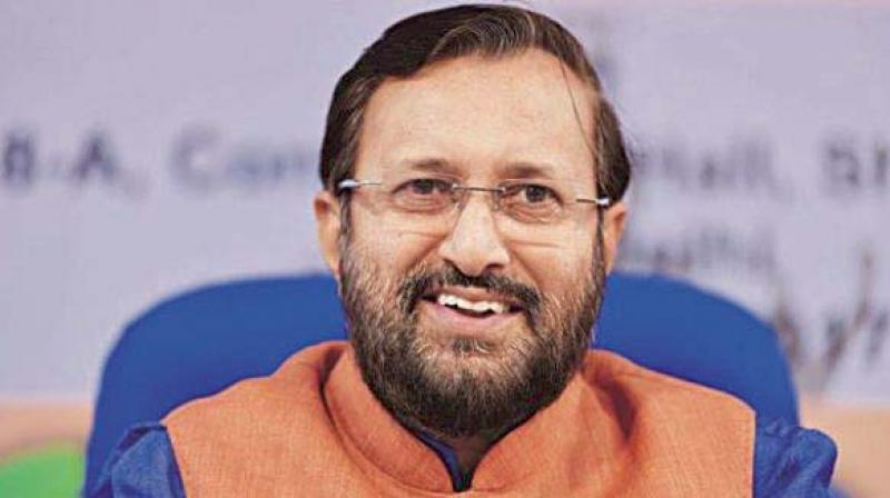 Union minister for HRD Prakash Javadekar (Photo: PTI | File)