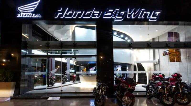 The BigWing dealership, which was opened in Gurugram, will cater to both sales and service of Honda's big bikes.