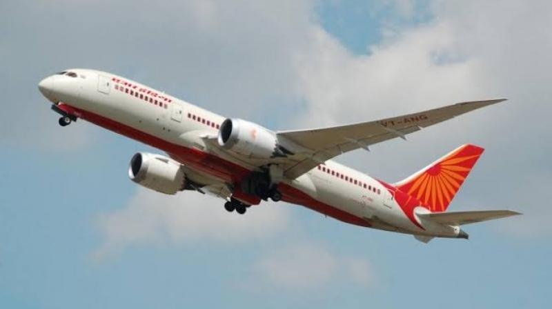 Scheduled domestic flights in India were completely suspended for a period of two months between March 25 and May 24, 2020, due to the coronavirus-induced lockdown. (Representational image: Twitter/@airindiain)