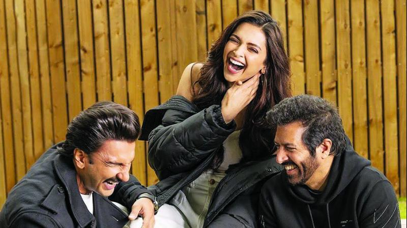 Ranveer Singh's excitement is palpable as he collaborates with wife Deepika Padukone for the fourth time for '83.