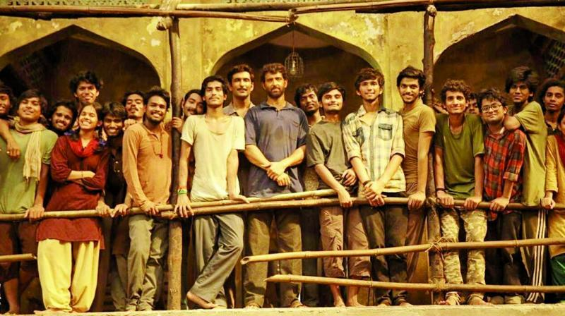 A still from Super 30