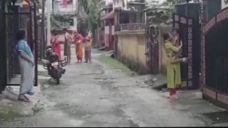 Earthquake measuring 5.5 on Richter scale hits parts of Assam. Tremors also felt in parts of West Bengal. (Photo: Twitter | ANI)