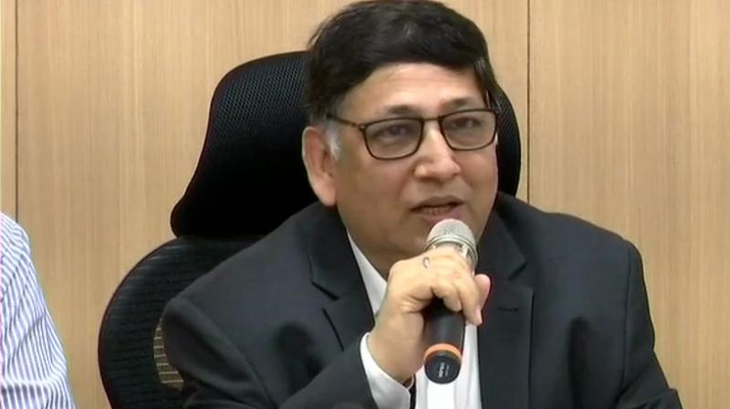 A team of the Election Commission headed by senior Deputy Election Commissioner Umesh Sinha, visited Hyderabad on Wednesday. (Photo: Twitter | ANI)