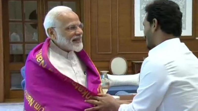 Reddy said he requested the prime minister to be 'magnanimous' towards the people of Andhra Pradesh. (Photo: ANI)