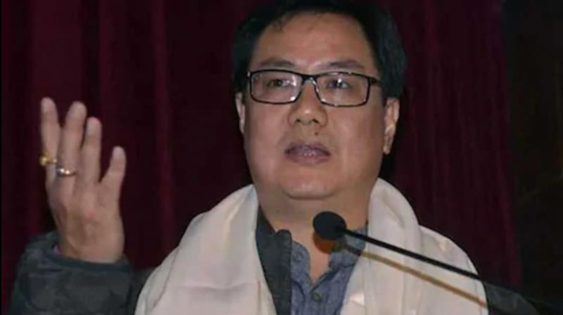 Stating that he wants to create a sports culture in India, Union Sports minister Kiren Rijiju said that basketball is one of the sports that have the potential to become popular in the country. (Photo: AFP)