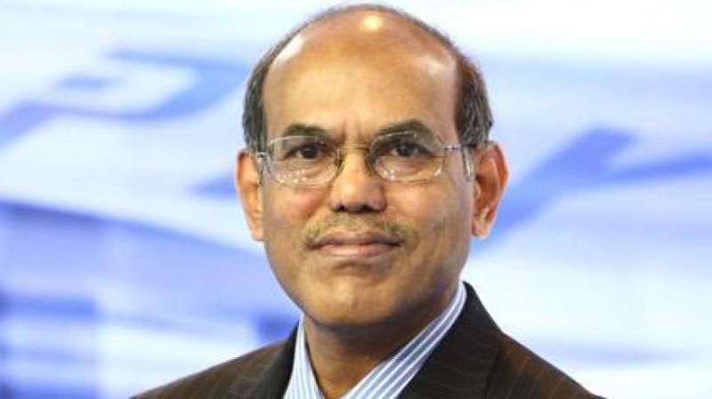 Former Reserve Bank governor D Subbarao