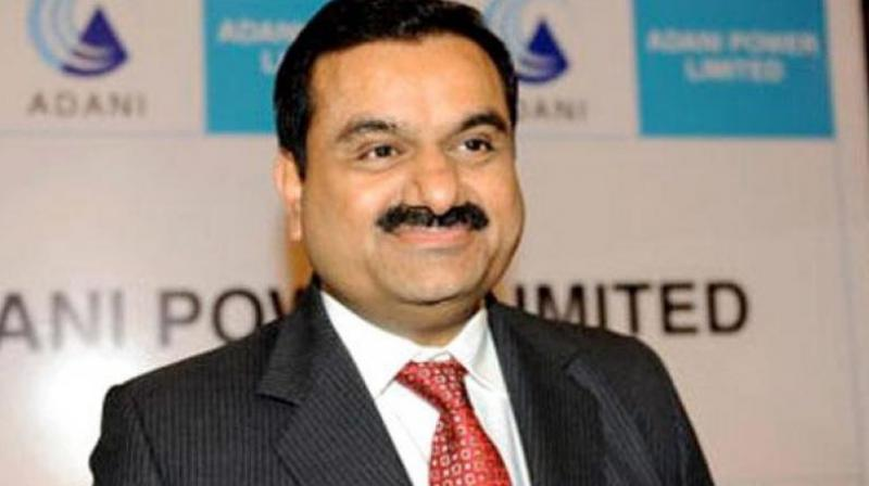 Chairman and founder of Adani group Gautam Adani.