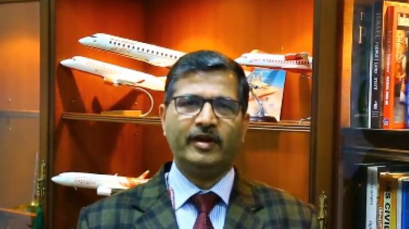 Air India chief managing director, Ashwani Lohani.