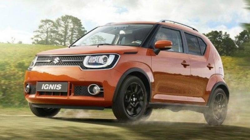 The waiting period for the Ignis is between two and three months.