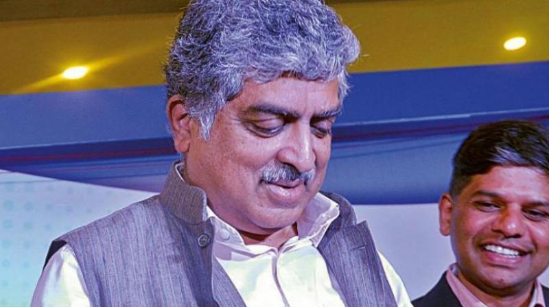 UIDAI former chairman Nandan Nilekani