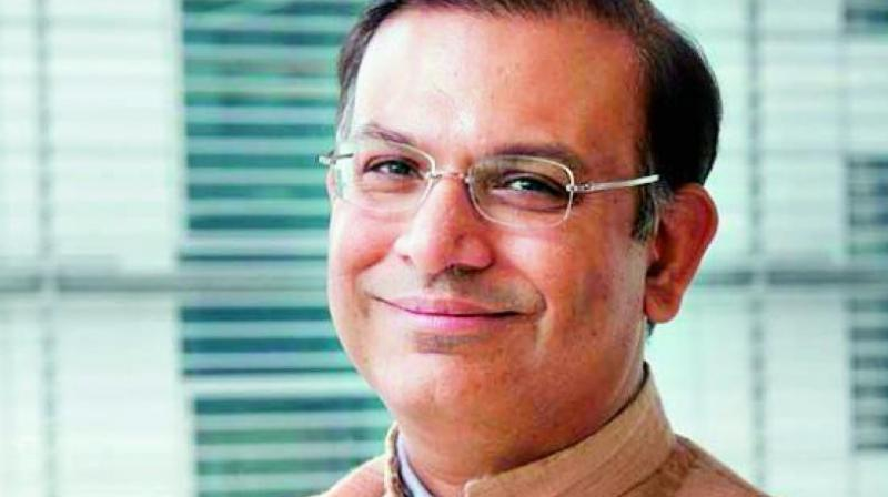 Minister of State for Civil Aviation Jayant Sinha.