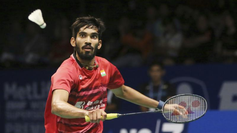 Kidambi Srikanth fought hard to emerge victorious against B Sai Praneeth in the Australian Open Superseries quarterfinal. (Photo: AP)