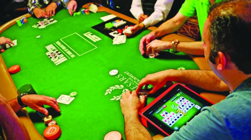 'Residential poker is a bit more social than a tournament. A few drinks maybe and some chatter, but no one is really getting smashed', says Mandira Singh at a Sunday poker get-together