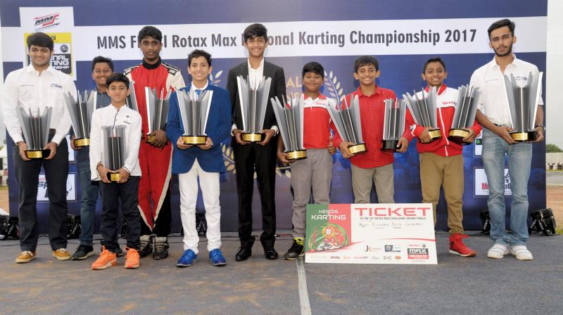 Aaroh Ravindra won the tournament with a lead of 33 points.