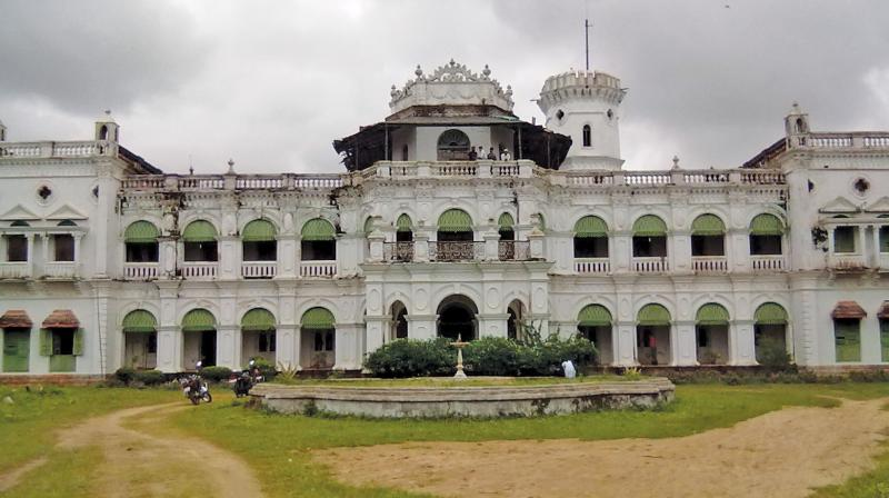 The Aul palace in Kendrapara in Odisha