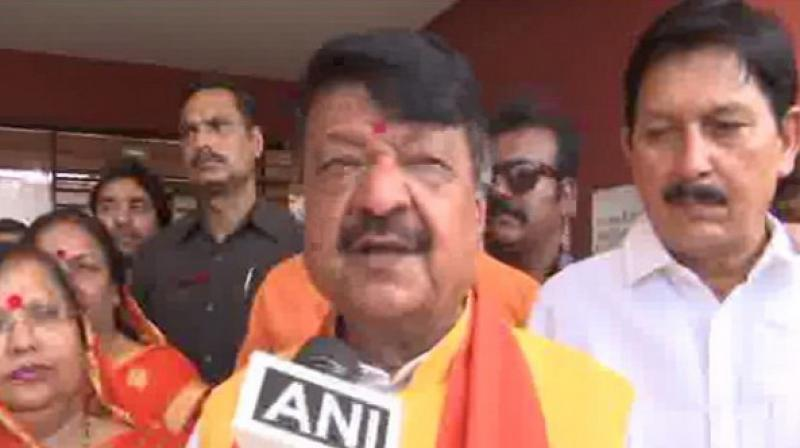 BJP's Bengal in-charge Kailash Vijayvargiya on Sunday slammed Chief Minister Mamata Banerjee and claimed that her goons are running the state of West Bengal. (Photo: ANI)