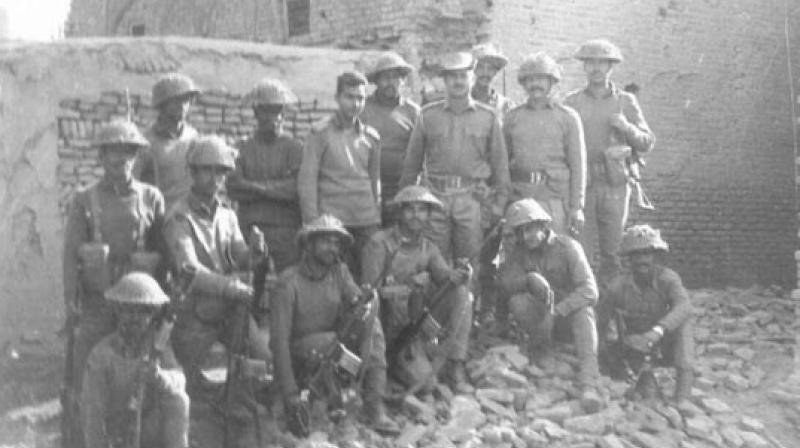 The Delta Company defenders of Kalsian Khurd, Capt. Chandrashekar, Havaldar Santhiah, Sub. Perumal Pillai, etc, who held on to their defensive despite overwhelming odds in the 1971 India-Pakistan war.