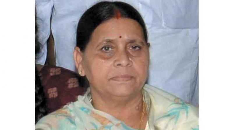 Former Bihar chief minister Rabri Devi alleged a conspiracy to eliminate her and her family members. (Photo: File)