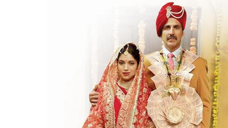 Still from the movie Toilet: Ek Prem Katha
