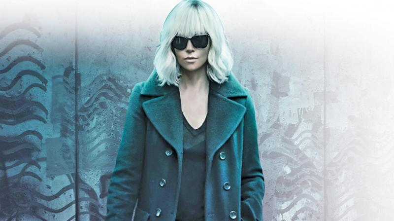 Still from the movie Atomic Blonde