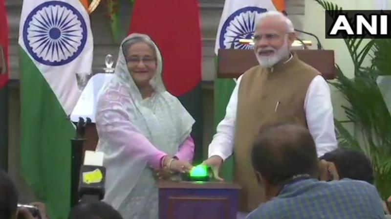 The pacts signed after Modi-Hasina talks provided for deeper cooperation between the two countries in areas of water resources, youth affairs, culture, education and coastal surveillance. (Photo: ANI)