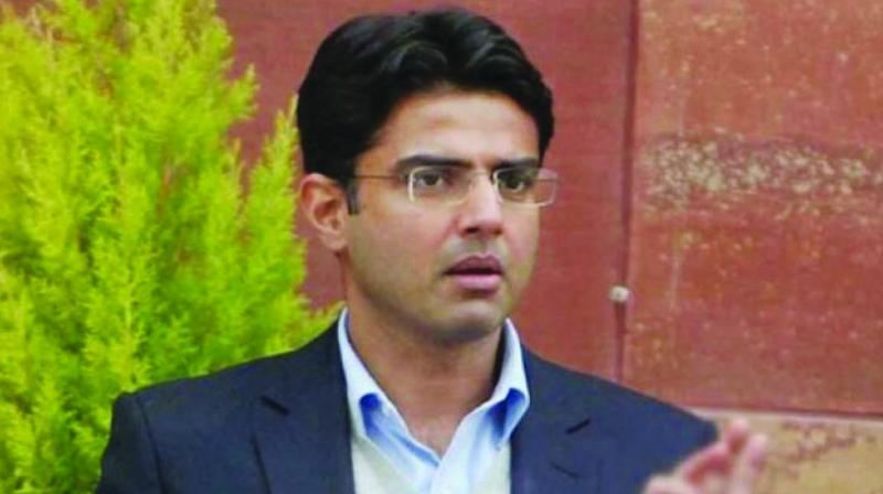 Congress leader Sachin Pilot