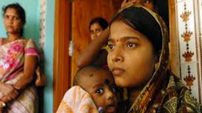 The authors analysed data from 60,097 mother-child pairs and examined the extent to which teenage pregnancy is associated with a child under nutrition. (Photo: ANI)