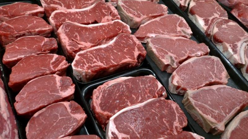 But the march to the future is relentless, and soon we will see meats that are not made from cows or vegetable substitutes but, instead, grown in a lab. (Photo: AP)