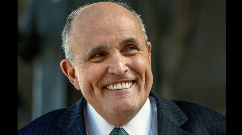 Responding to questions, Giuliani said that the political ramifications of Trump pardoning himself would be tough. (Photo: File/AP)
