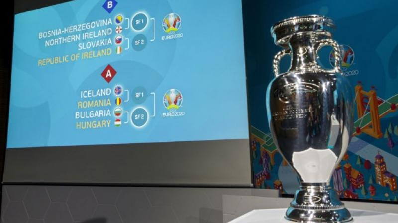 Portugal, France and Germany have been placed in the group F for the upcoming UEFA Euro Cup 2020, as the main draw was revealed on Saturday (local time). (Photo:AP)