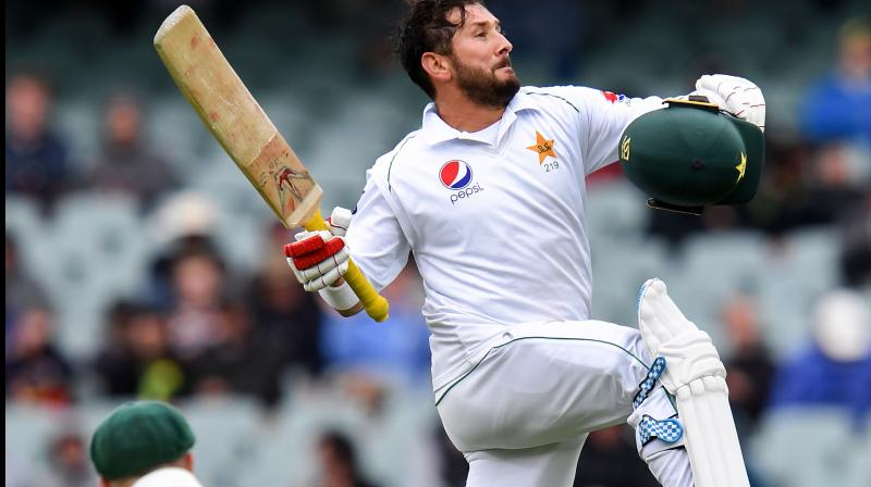 Former Pakistan bowler Shoaib Akhtar on Sunday praised Yasir Shah for showing 'great resilience' against Australia in the second Test match.  (Photo:AFP)