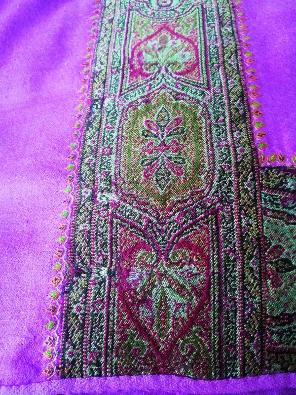 kani pashmina in multiple colours weaving