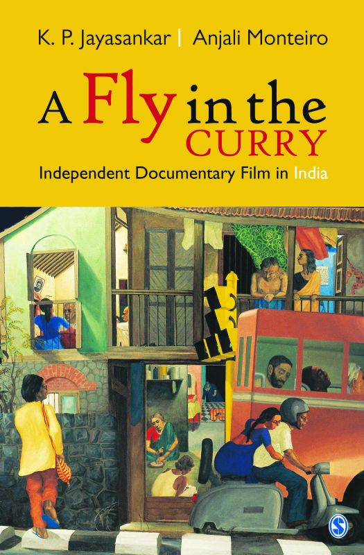 The cover of the book with painter Sudhir Patwardhan's work on it. Courtesy: Sage Publications