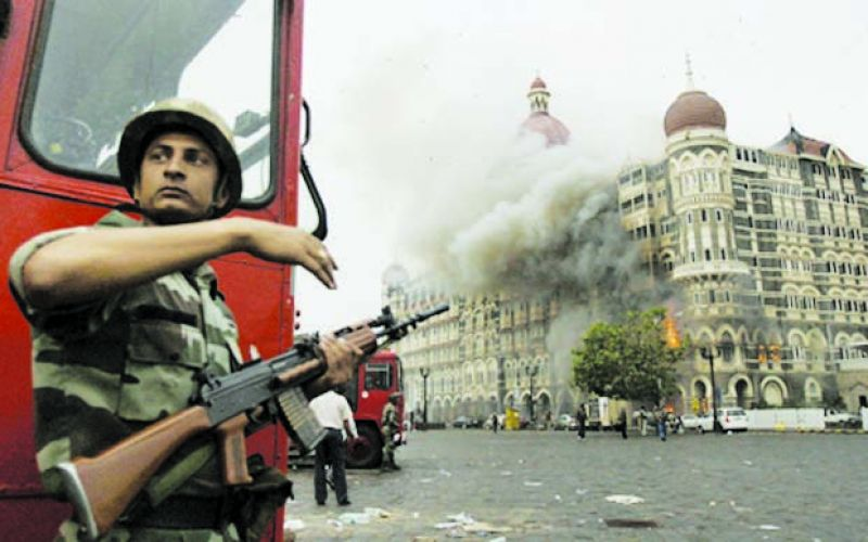 The Taj Mahal Palace Hotel was one of the buidlings targeted on 26/11.
