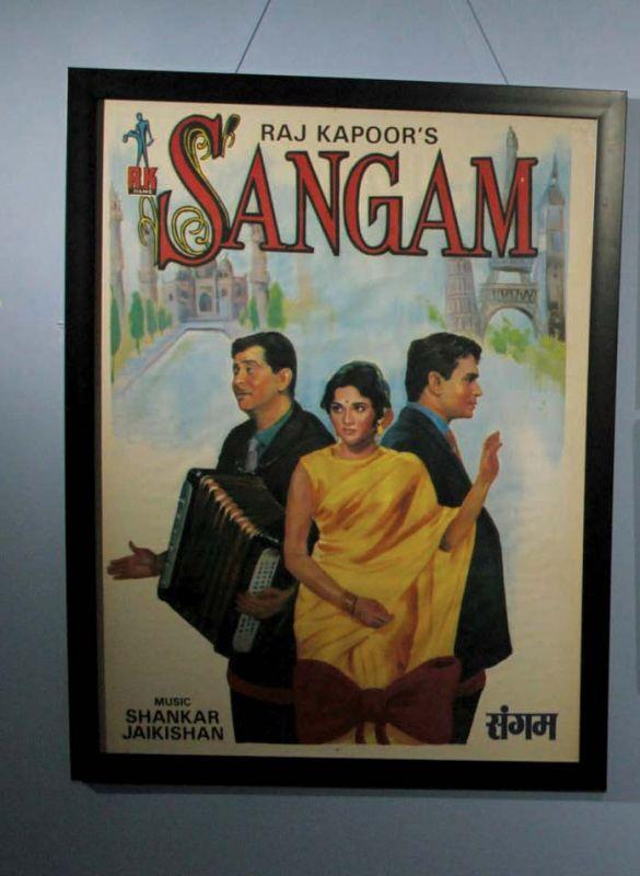 Poster of Sangam ( Photo: Mrugesh Bandiwadekar)